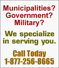 Serving Military, Government and Municipalities