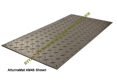 AlturnaMat AM26S1 Ground Protection Mat - AlturnaMat AM48 Shown For Reference