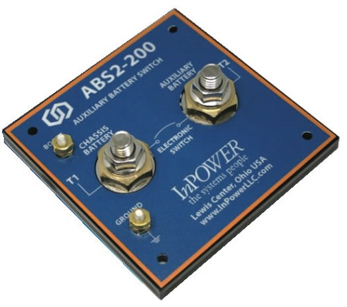 InPower ABS-200-SPC207 Auxiliary Battery Switch