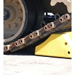 Checkers MC3010 Wheel Chocks Can Be Used On Tracked Vehicles