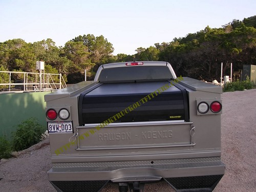 Utility Truck Bed Cover by Roll Cover