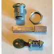 Lock Cylinder For D-Ring Handles Hardware