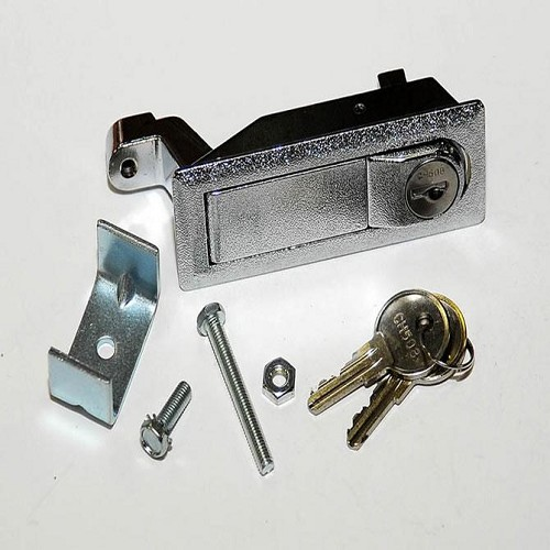 Locking Trigger Latch - Chrome Plated